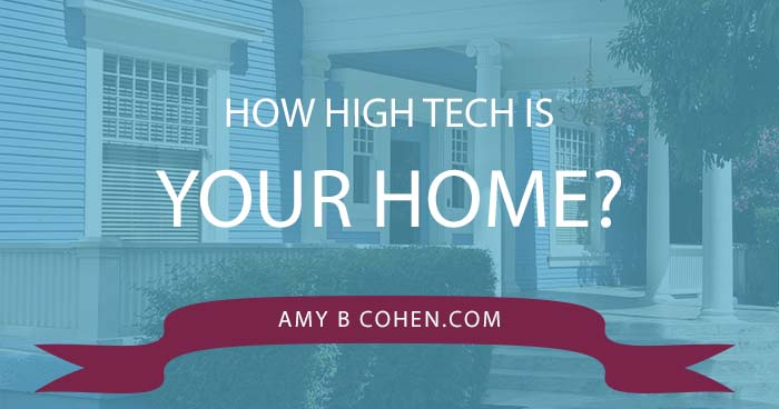 how high tech is your home