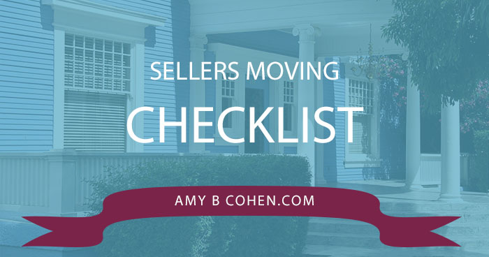 sellers moving checklist